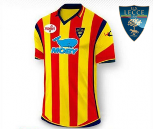 maglia Lecce 2016-2017