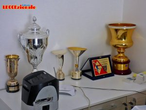 sede U.S. Lecce coppe e targa