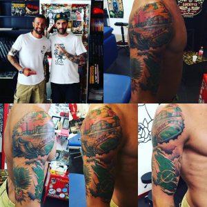 tattoo tatuaggio Checco Lepore Via del Mare