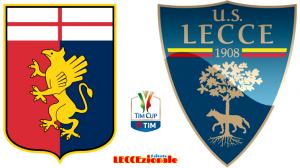 Genoa-Lecce Tim Cup