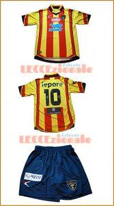 Maglia US Lecce 2016-2017 con sponsor