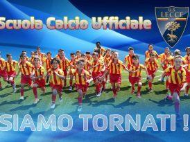 Scuola Calcio U.S. Lecce, da lunedì al via le iscrizioni