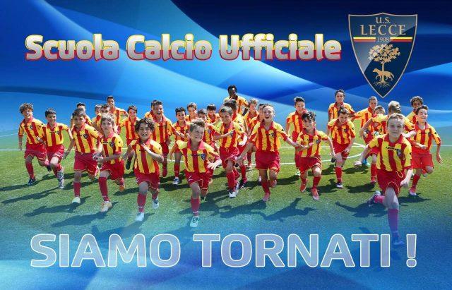 La festa della Scuola Calcio dell'U.S. Lecce