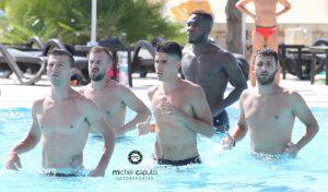 allenamento Lcce in piscina Maimone