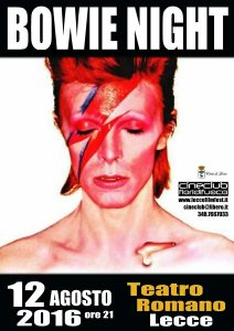 bowie night poster