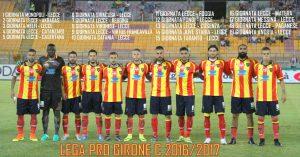 calendario Lecce 2016-2017