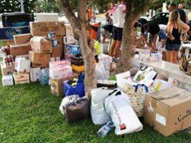 Terremoto: gli Ultrà Lecce raccolgono aiuti per uomini e animali