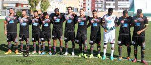 squadra Lecce a Monopoli terza maglia