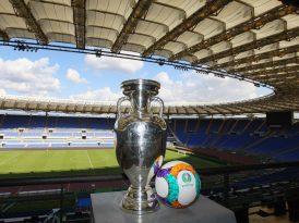 Euro 2020, presentato a Roma il logo