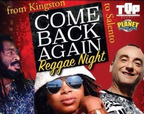 """Come Back Again Reggae Night"" con Terron Fabio, Isha Bel e Wild Life"