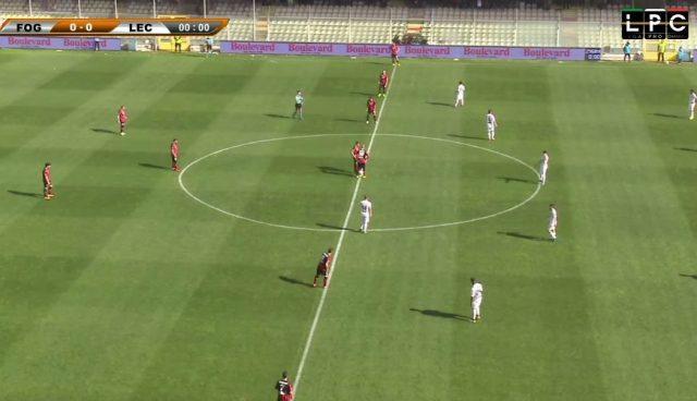 Lecce, è un naufragio totale. Domina il Foggia: 3-0