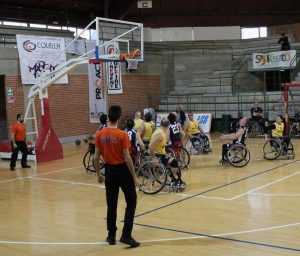 basket in carrozzina Lecce