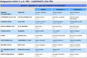 designazioni-arbitrali-32-giornata-lega-pro-girone-c