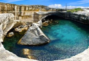 grotta poesia melendugno roca