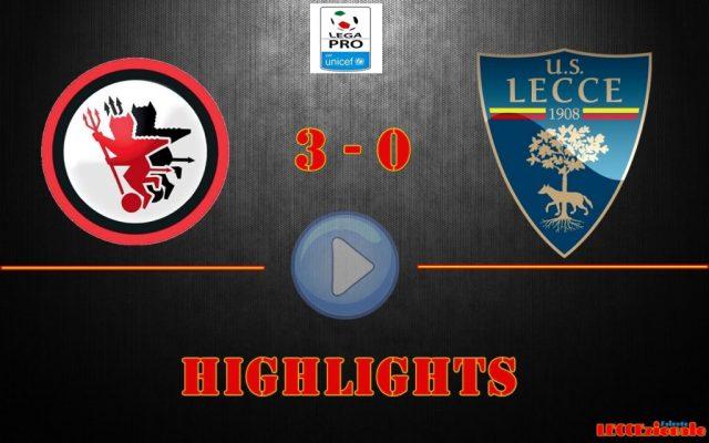 Foggia-Lecce 3-0, gli highlights