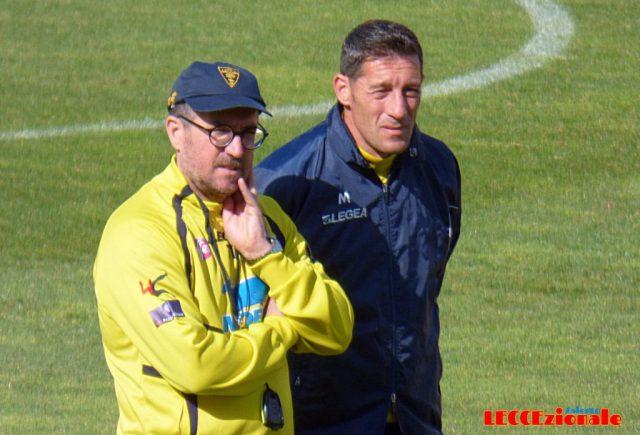 Lecce, ecco lo staff tecnico di mister Rizzo