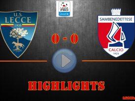 Lecce-Samb 0-0, gli highlights