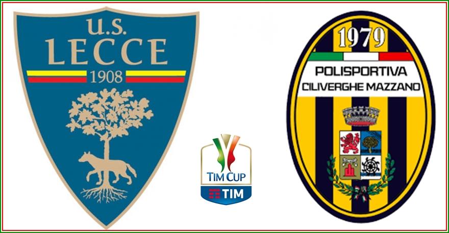 Tim Cup, la Pro affronterà il Lecce o il Ciliverghe Mazzano