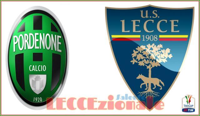 Ecco dove seguire Pordenone-Lecce