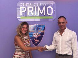 """Anche """"Primo Group"""" top sponsor dell'U.S. Lecce"""
