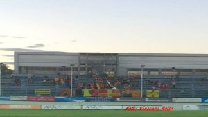 I tifosi del Lecce a Pordenone