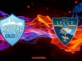 Matera-Lecce, il tabellino