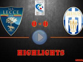 Lecce-Akragas 0-0, gli highlights