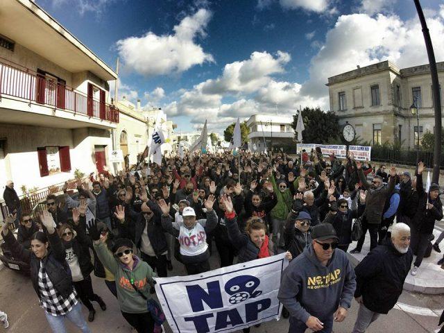 Domani a Lecce il corteo dei No Tap