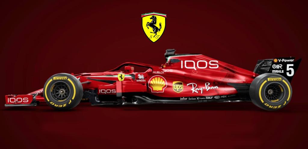 F1 la ferrari 2018 si veste tutta di rosso leccezionale for Iqos nuovo modello