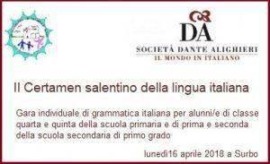 Certamen salentino di grammatica italiana