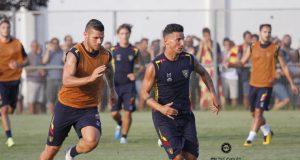allenamento Lecce